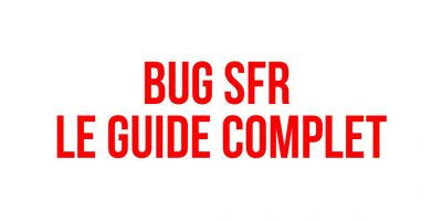 bug sfr