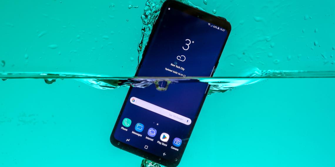 les meilleurs smartphones étanches